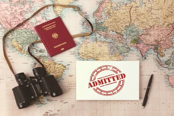 Make sure you have your passport and other essentials while studying abroad