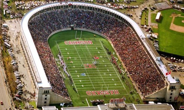 harvard university stadium