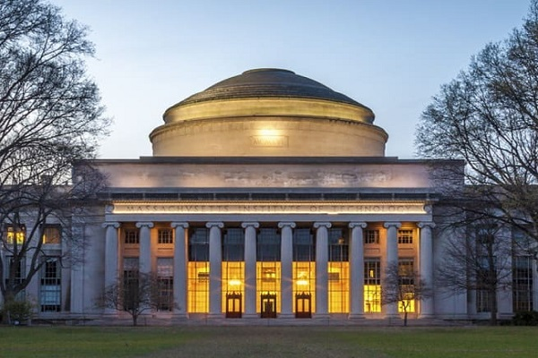 The grand campus of MIT university