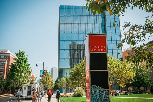 Boston University is one of the Most popular universities in the us