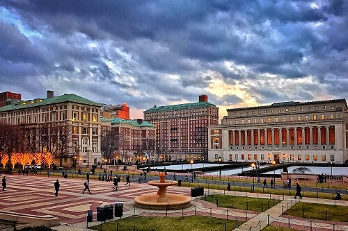 Columbia University offers programs for Masters in USA without GRE