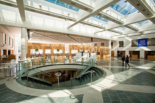 beautiful lobby of Duke University