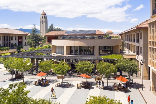 Stanford University campus building