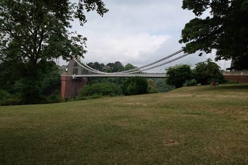View of the Clifton Bridge